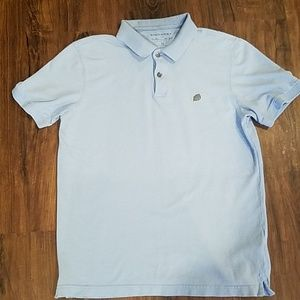 Banana Republic Blue Cotton Polo Shirt